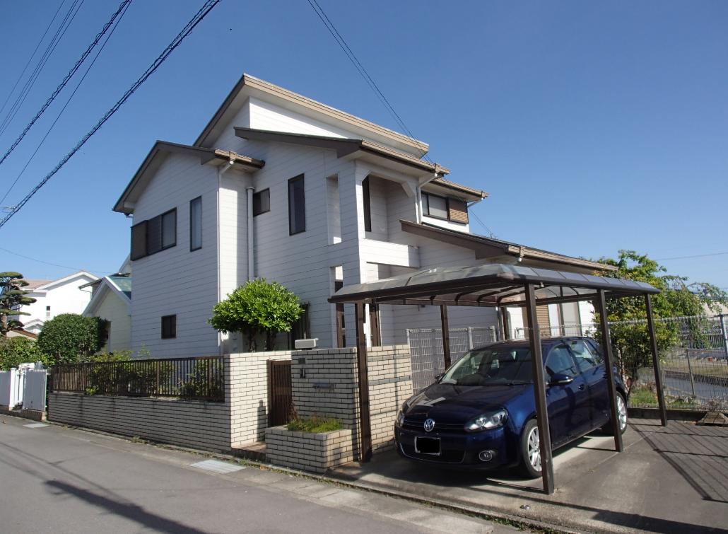 外壁塗装工事 施工前 徳島