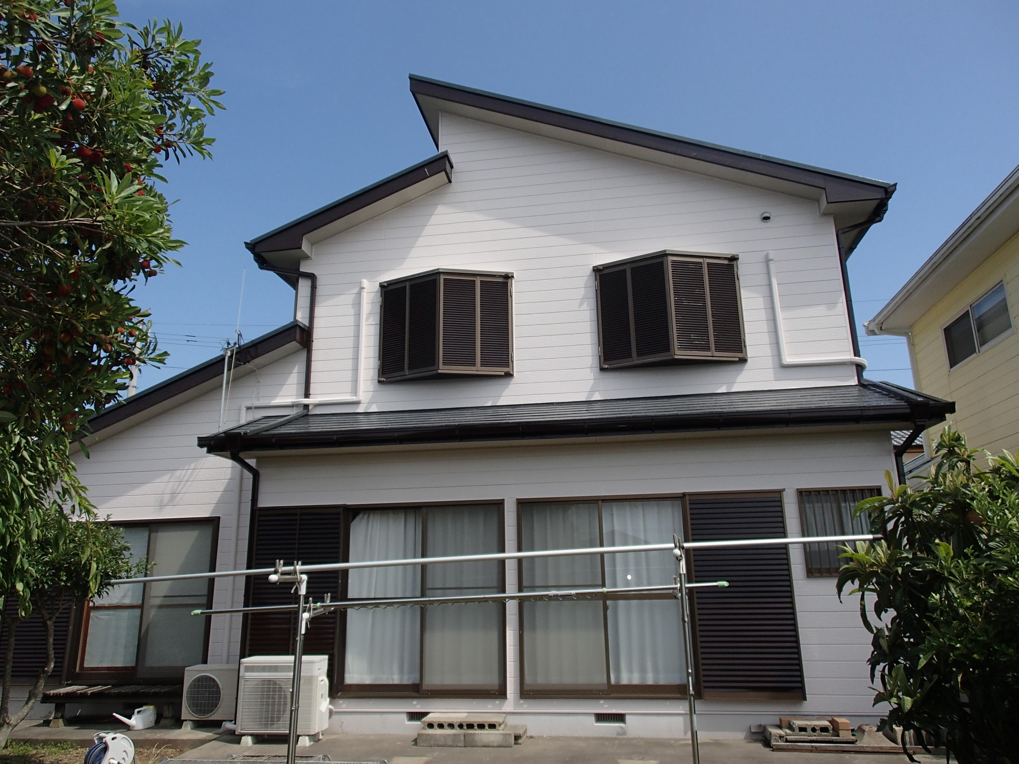 外壁塗装工事 施工後 徳島