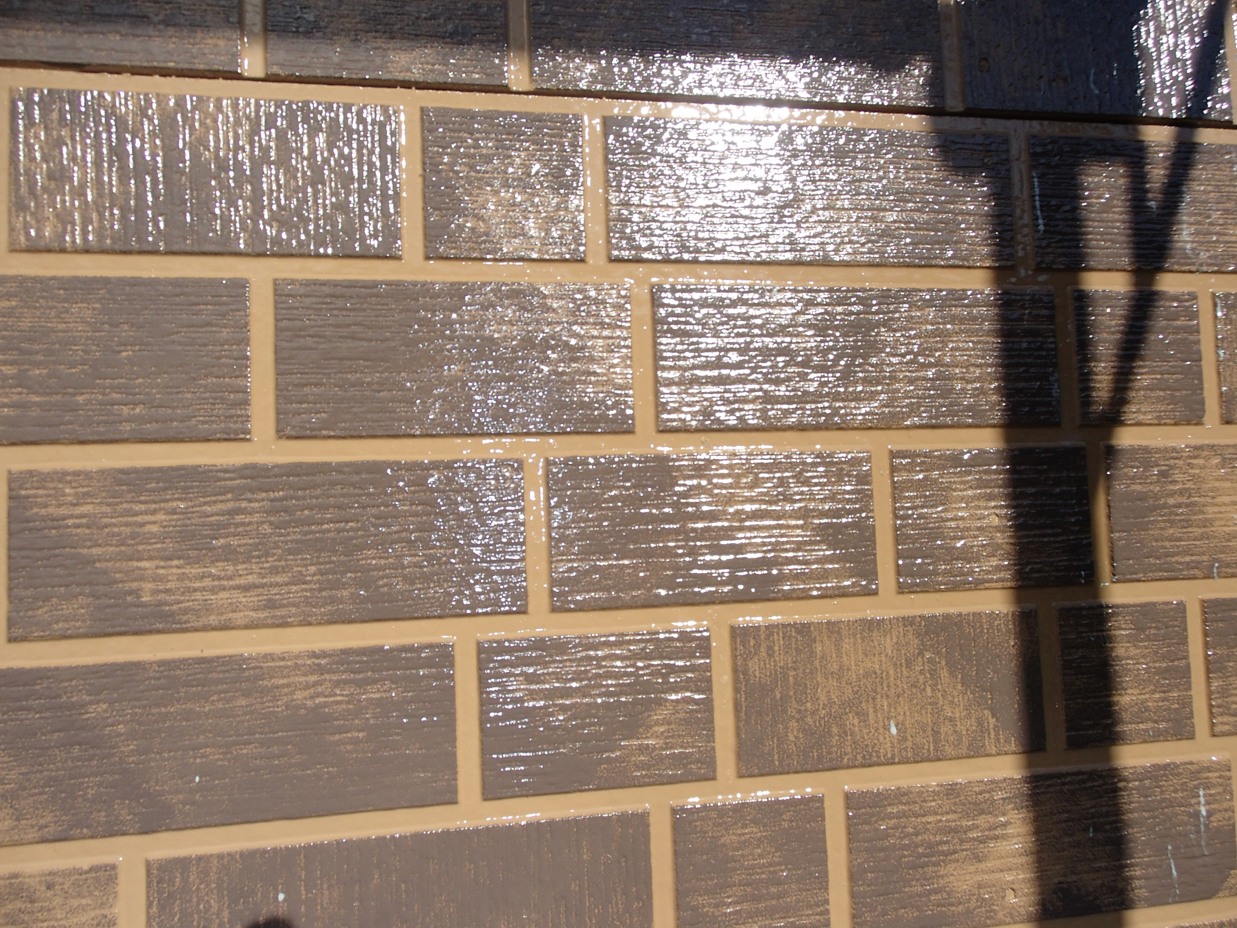 外壁塗装工事 2色分け 徳島
